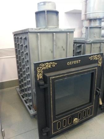 Фото Чугунные печи для бани Гефест от производителя в Екатеринбурге