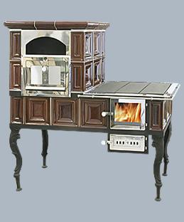 Фото Большая плита (левая, правая) с духовкой