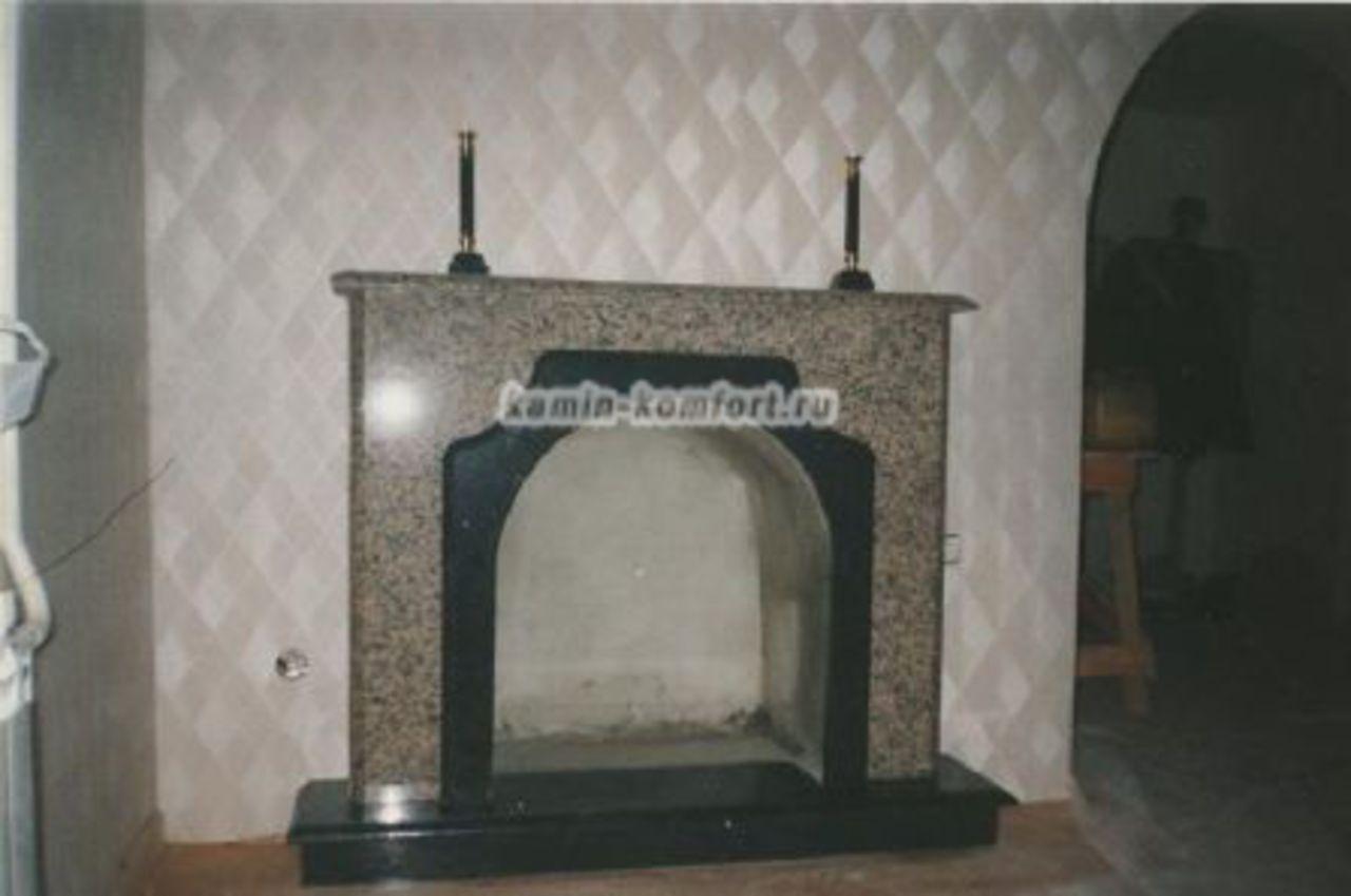Фото Индивидуальный мраморный портал для камина