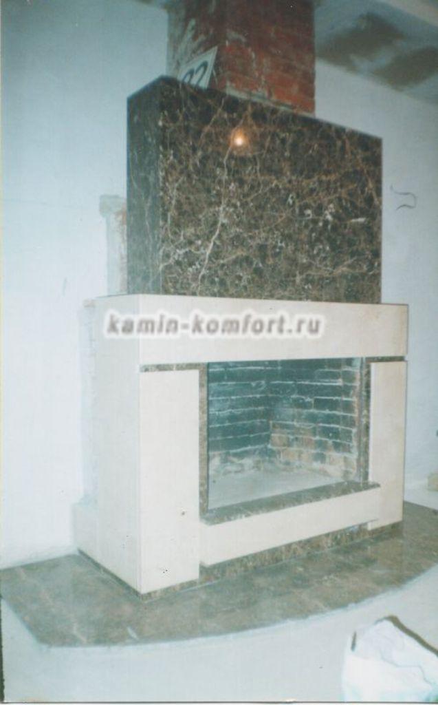 Фото Фото отделки камина мрамором