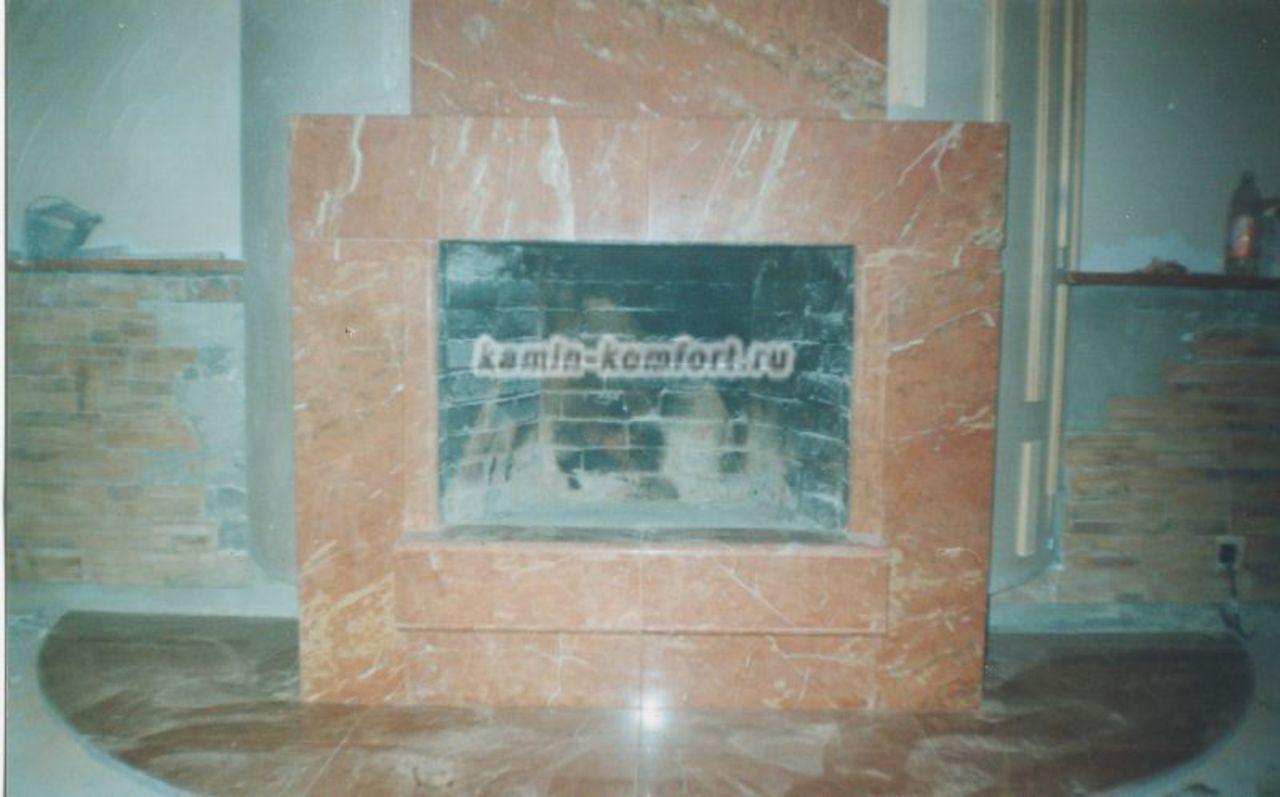 Фото Индивидуальная облицовка из мрамора