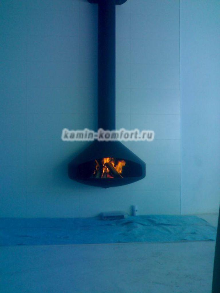 Фото Подвесной камин