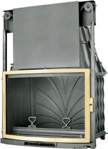 Фото Топка FABRILOR DECO 855 DO BR с подъемной дверцей