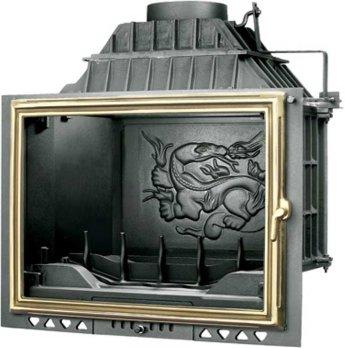 Фото Топка FABRILOR DECO 750 BR  с латунной дверцей