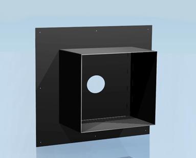 Фото Проходная разделка с полимерным покрытием 0,5 d-200, 600 х 600