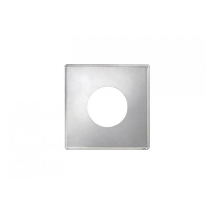 Фото Дымок - Фланец без изоляции 670 мм х 670 мм на трубу c изоляцией d=115/200, AISI 439