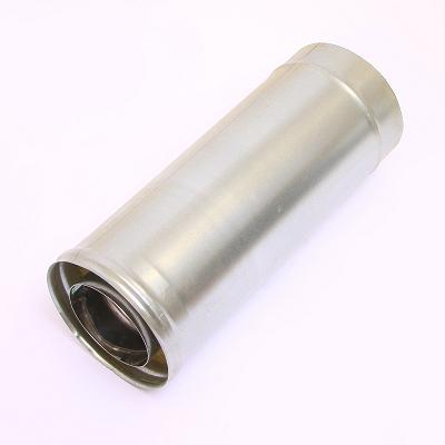 Фото Феррум - Дымоход двустенный, по воде L=500, D=115/200, AISI 430/ОЦ, 0,8/0,5 мм