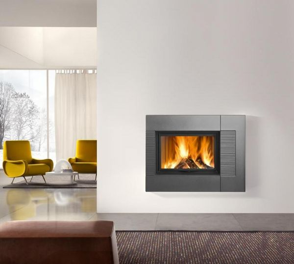 Robeys Fireplaces Piazzetta Fireplaces Piazzetta Dresda Fireplace suitable for Wood or Gas