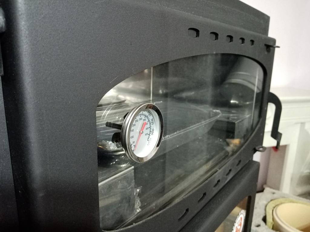 Изображение Печь-камин БАВАРИЯ с плитой и духовым шкафом 7