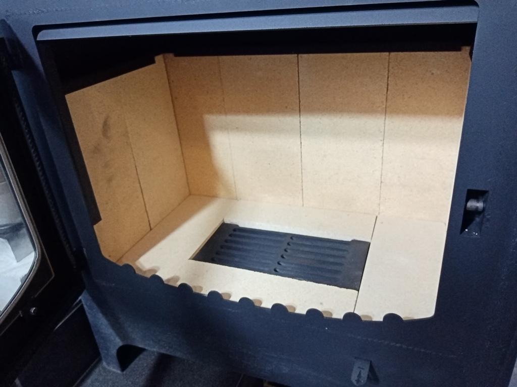 Изображение Печь-камин БАВАРИЯ с плитой и духовым шкафом 10