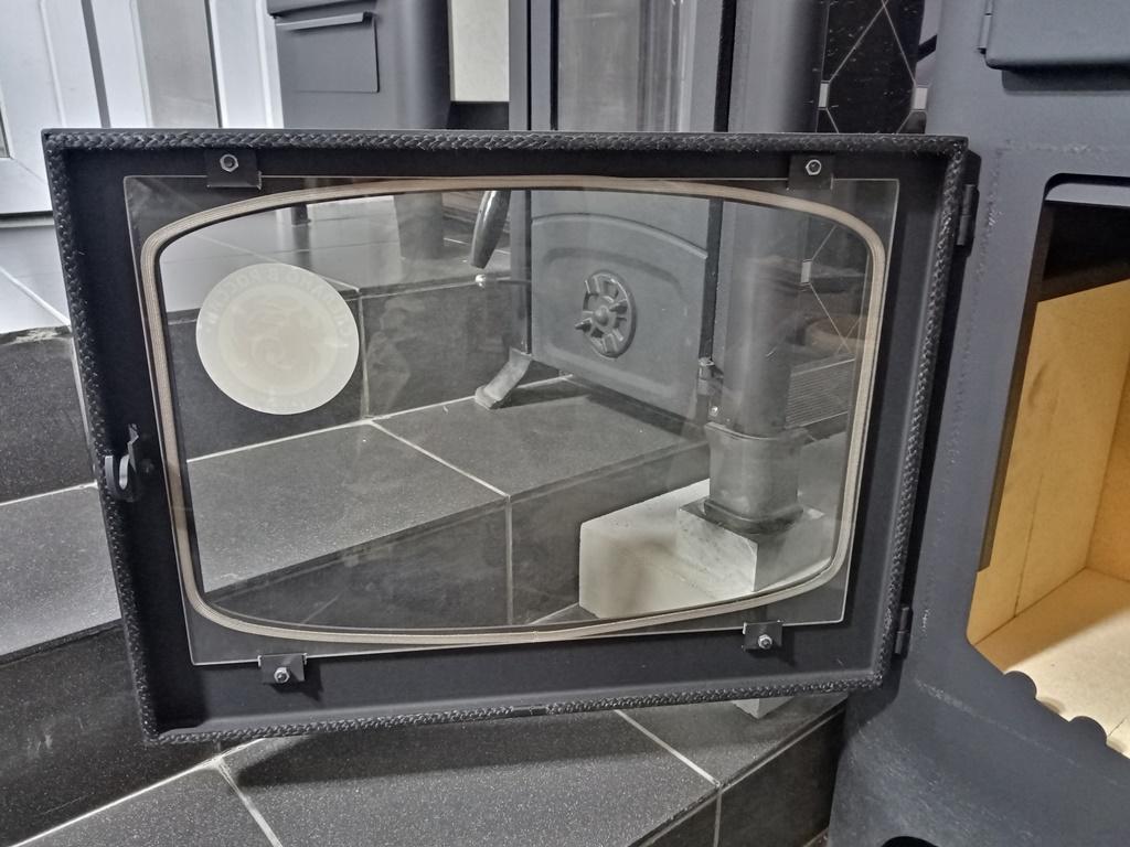 Изображение Печь-камин БАВАРИЯ с плитой и духовым шкафом 11