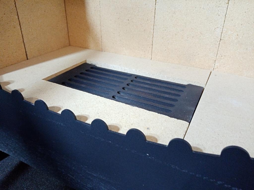 Изображение Печь-камин БАВАРИЯ с плитой и духовым шкафом 13