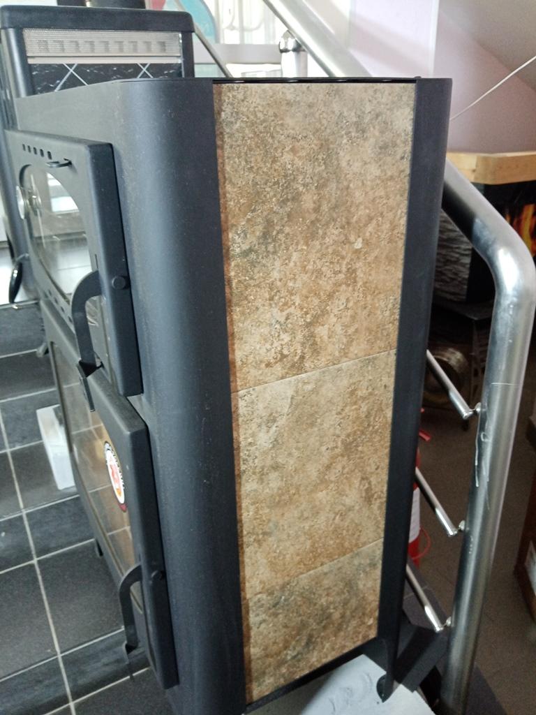 Изображение Печь-камин БАВАРИЯ с плитой и духовым шкафом 16